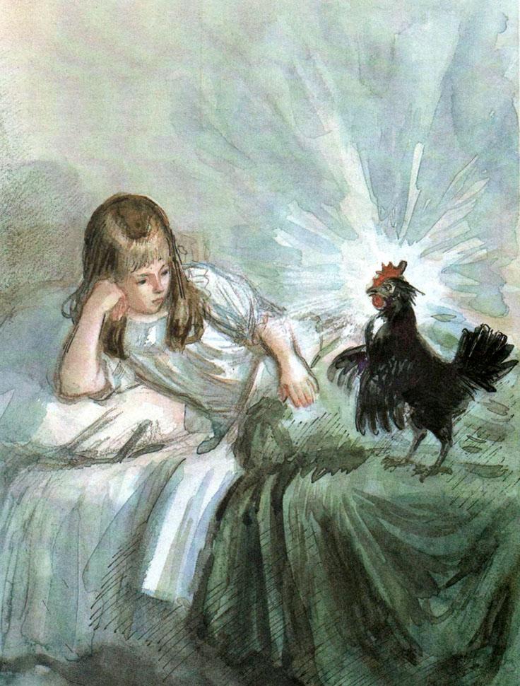 смотреть мультик черная курица или подземные жители